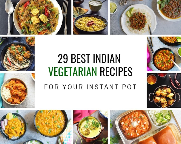 Instant Pot Vegetarian Recipes Indian  29 Best Instant Pot Indian Ve arian Recipes Piping Pot