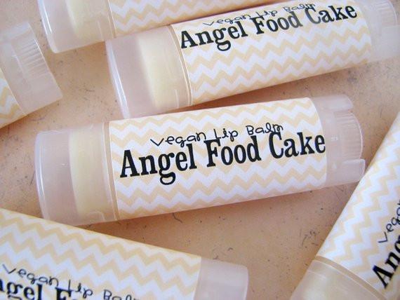 Is Angel Food Cake Vegan  Angel Food Cake Vegan Lip Balm Natural Lip Butter Bath