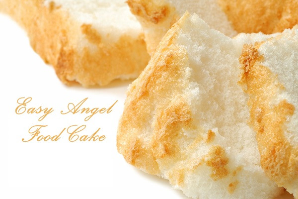 Is Angel Food Cake Vegan  Easy Angel Food Cake Recipe with Dairy Free Custard or