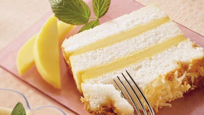Is Angel Food Cake Vegan  Angel Food Mango Loaf Cake Recipe Pillsbury