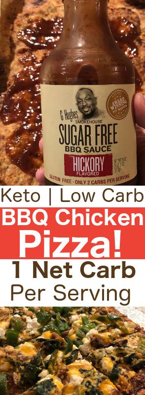 Is Bbq Sauce Keto  Keto BBQ Chicken Pizza