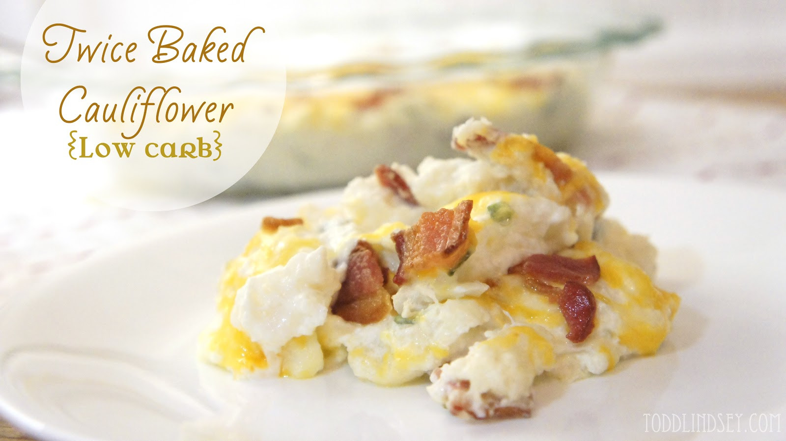 Is Cauliflower Low Carb  Domer Home Twice Baked Cauliflower Low Carb