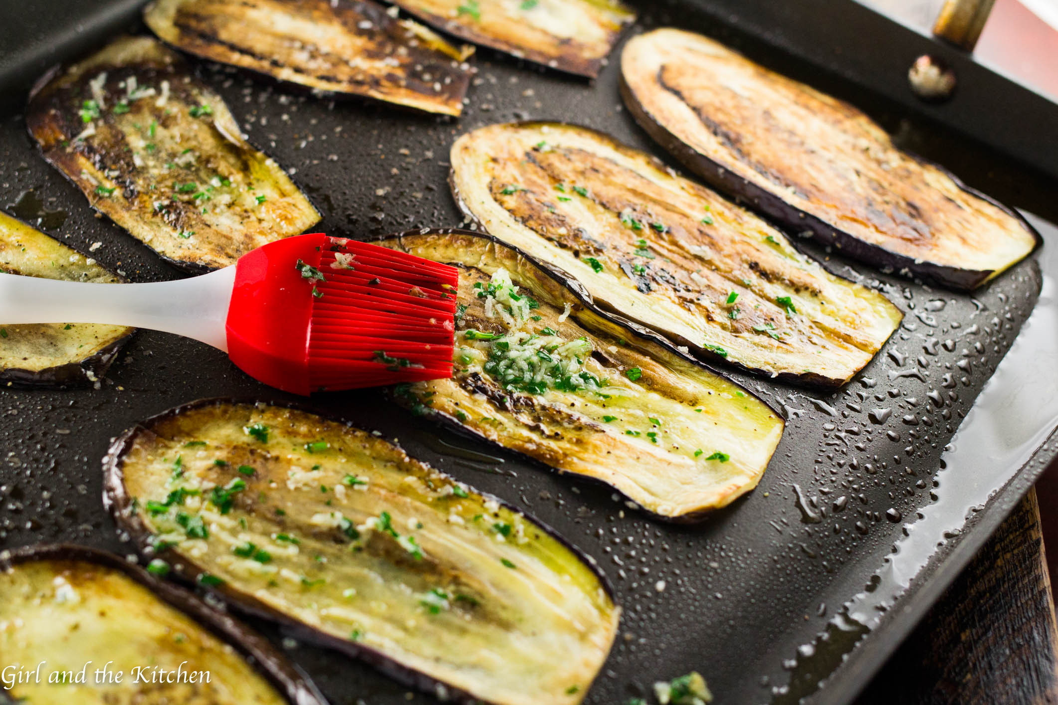 Is Eggplant Healthy  Healthy Pan Fried Baby Eggplant with Gremolata Girl and