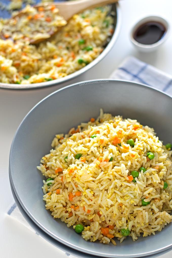 Is Fried Rice Vegan  Simple Vegan Fried Rice