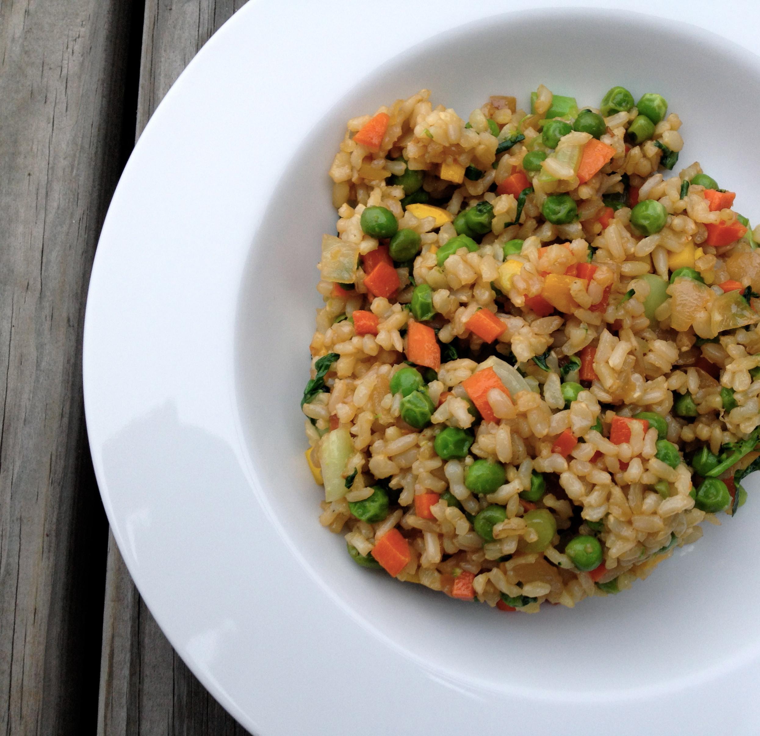 Is Fried Rice Vegan  teeny tiny foo