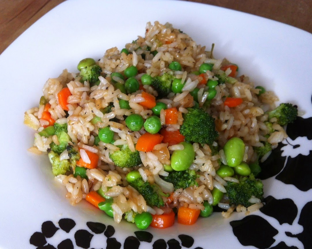 Is Fried Rice Vegan  Vegan Adjacent Ve able Fried Rice