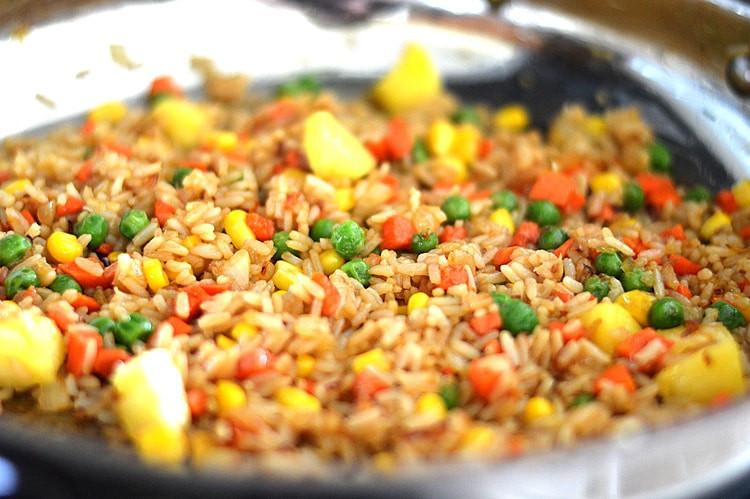 Is Fried Rice Vegan  Pineapple Fried Rice Vegan TheVegLife