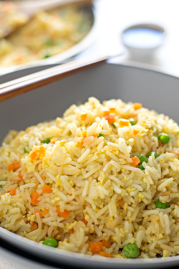 Is Fried Rice Vegan  Simple Vegan Fried Rice Simple Vegan Blog