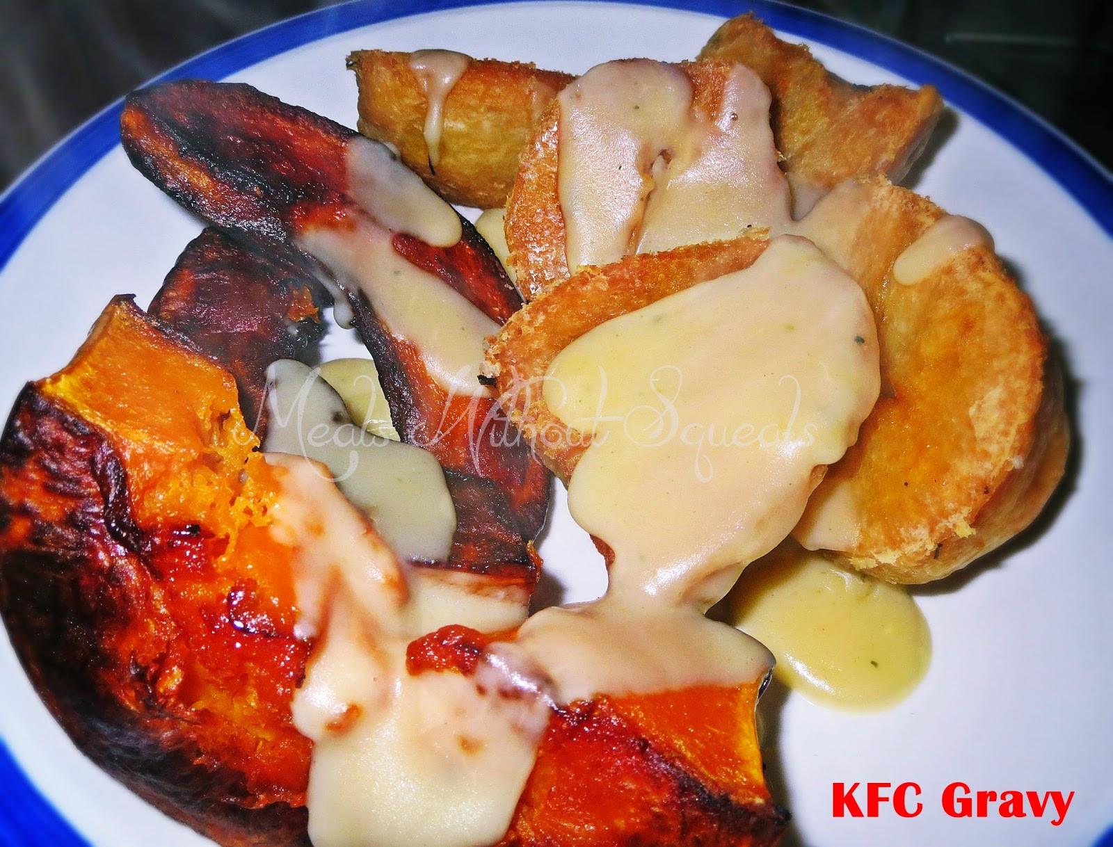 "Is Kfc Gravy Vegetarian  meals without squeals Vegan ""KFC"" Gravy"