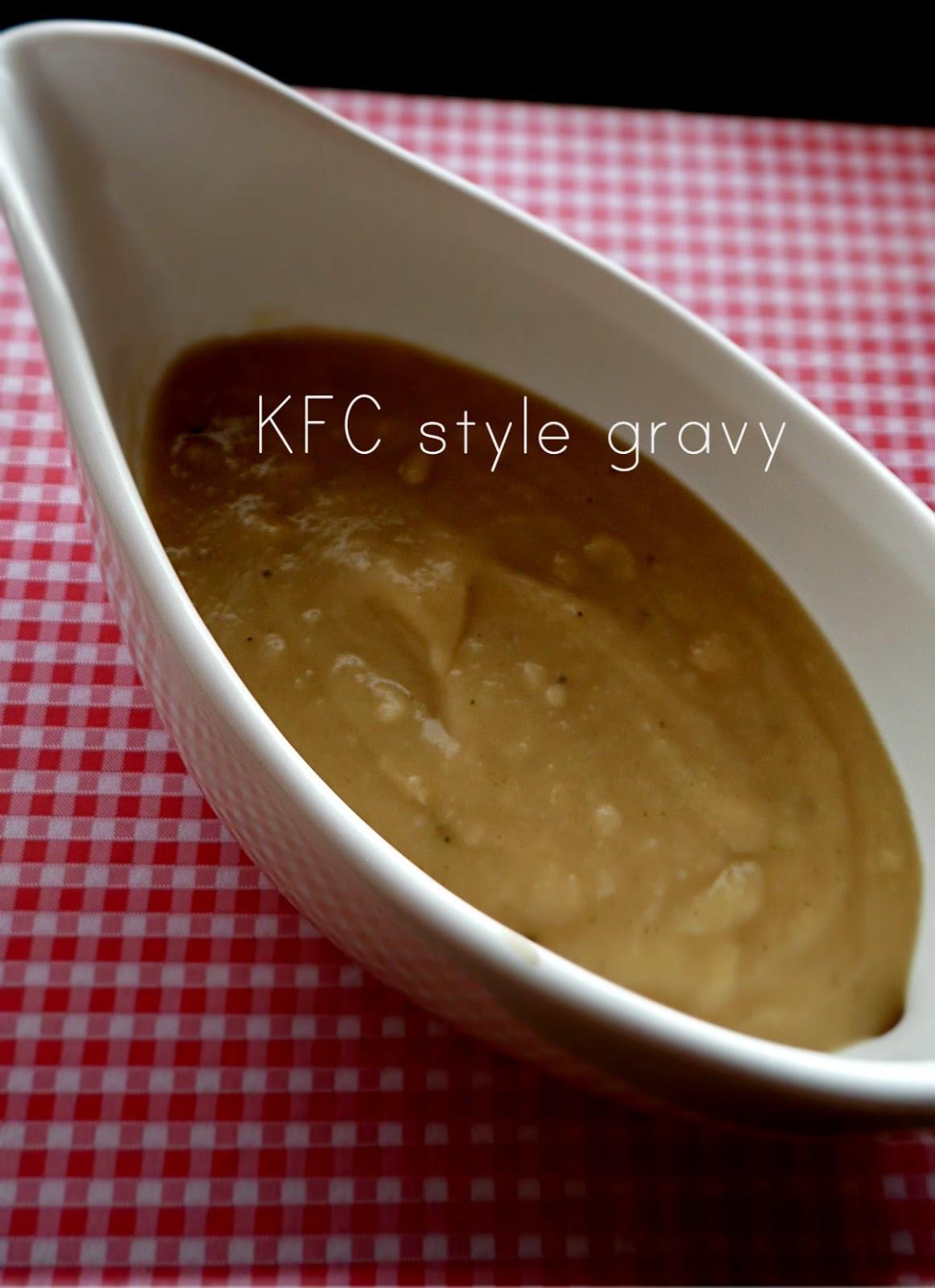 Is Kfc Gravy Vegetarian  Cooking in Hungary KFC style gravy