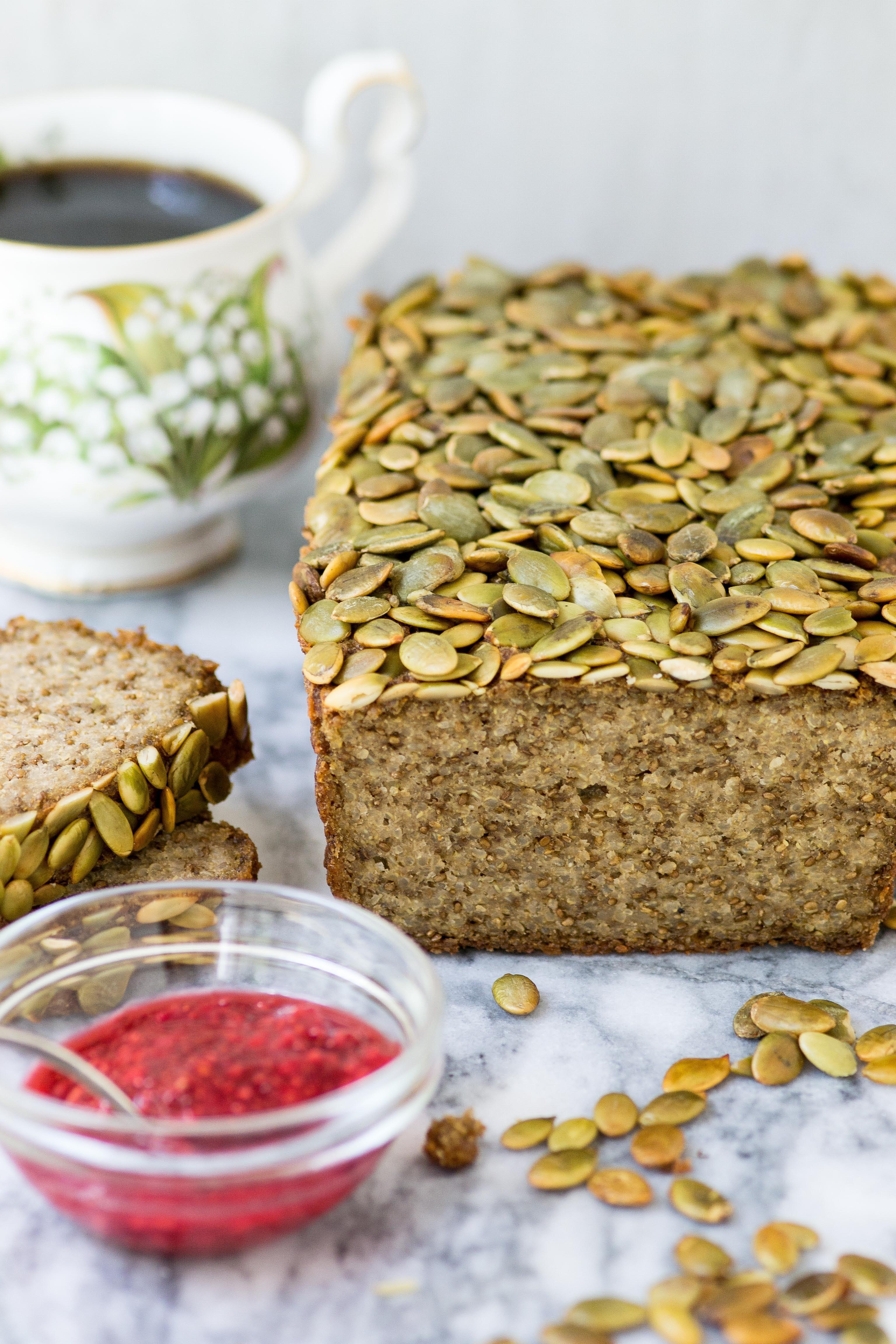 Is Quinoa Gluten Free  Pepita Quinoa Chia Bread Queen of My Kitchen