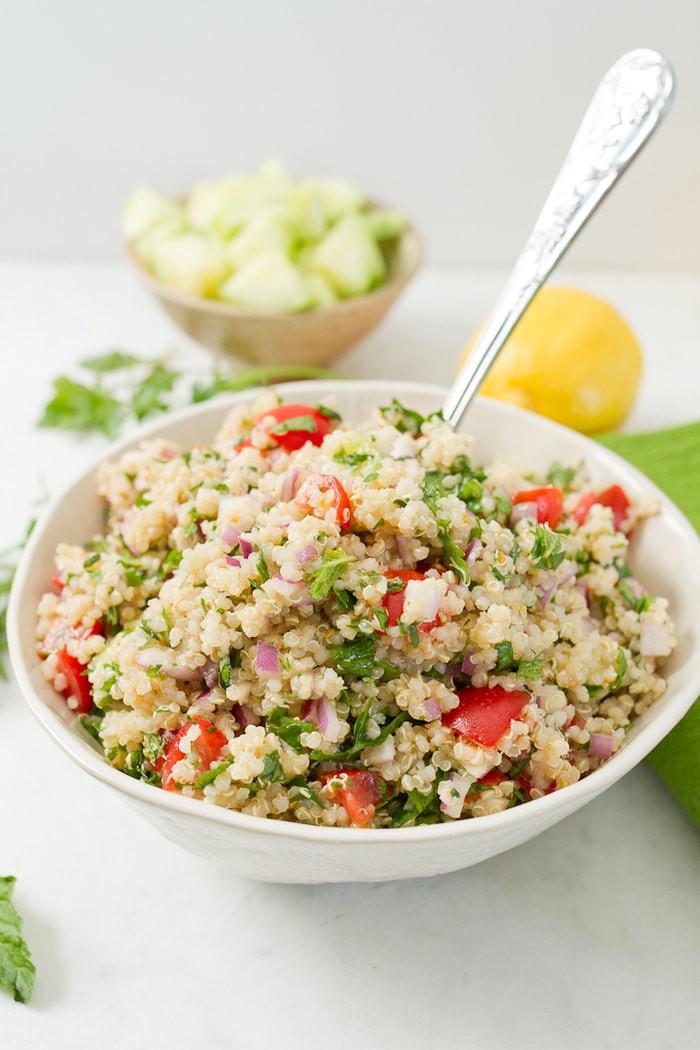 Is Quinoa Gluten Free  quinoa tabbouleh salad gluten free