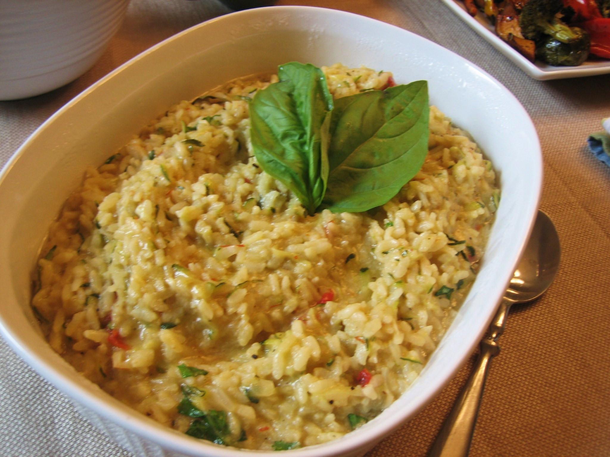 Is Risotto Vegan  Vegan Zucchini Risotto
