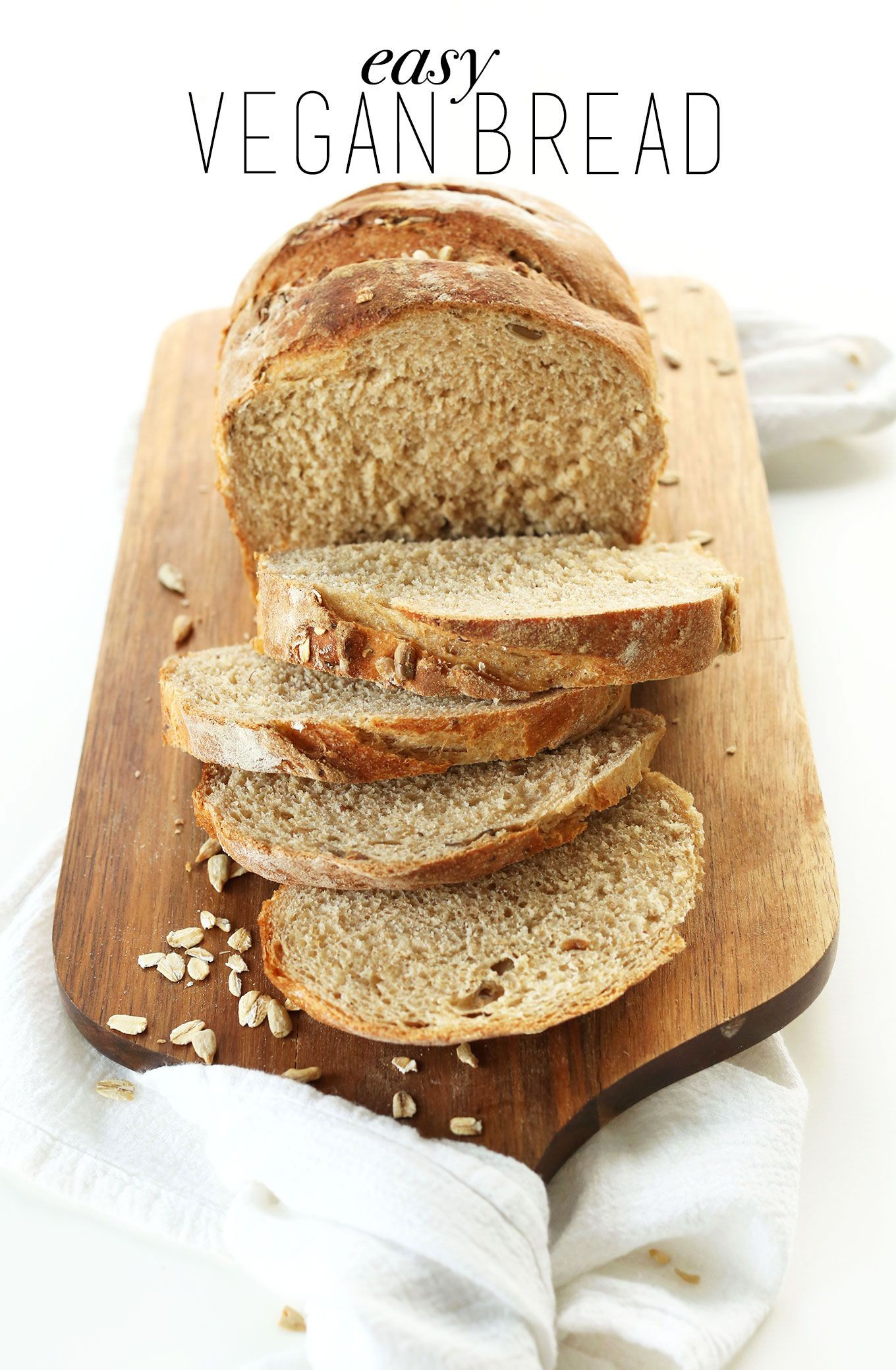 Is There Vegan Bread  Easy Whole Grain Seeded Bread Recipe