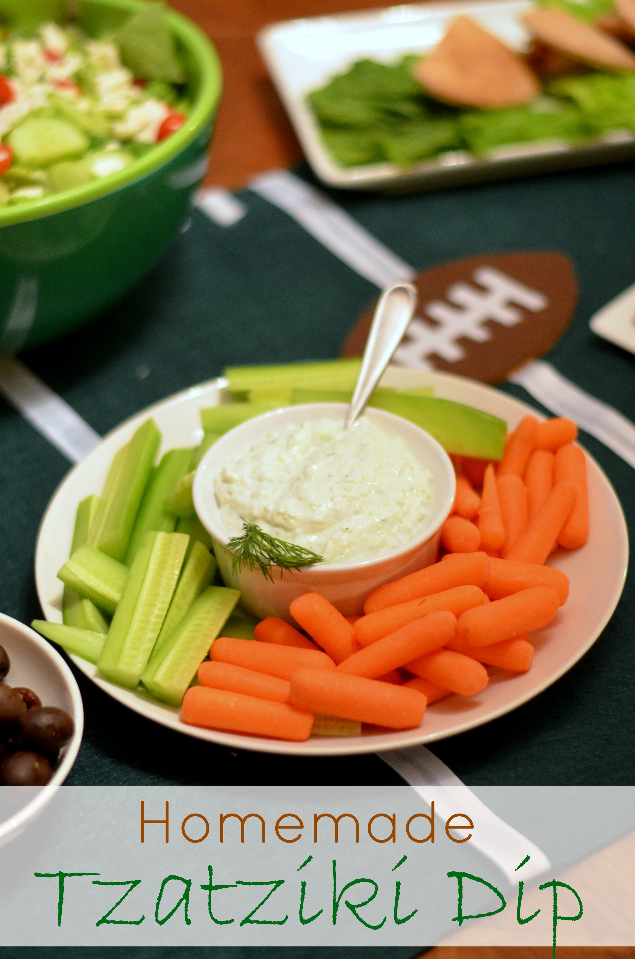 Is Tzatziki Sauce Healthy  Healthy Dip Alternative Homemade Tzatziki Dip Recipe