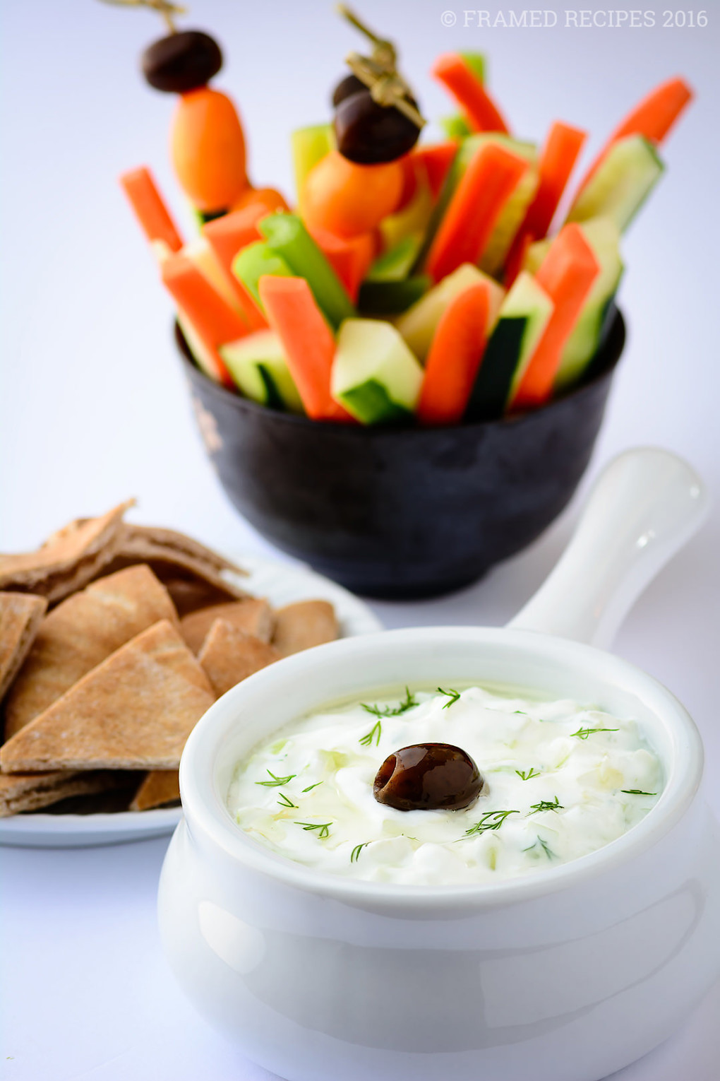 Is Tzatziki Sauce Healthy  Tzatziki Sauce Recipe Framed Recipes
