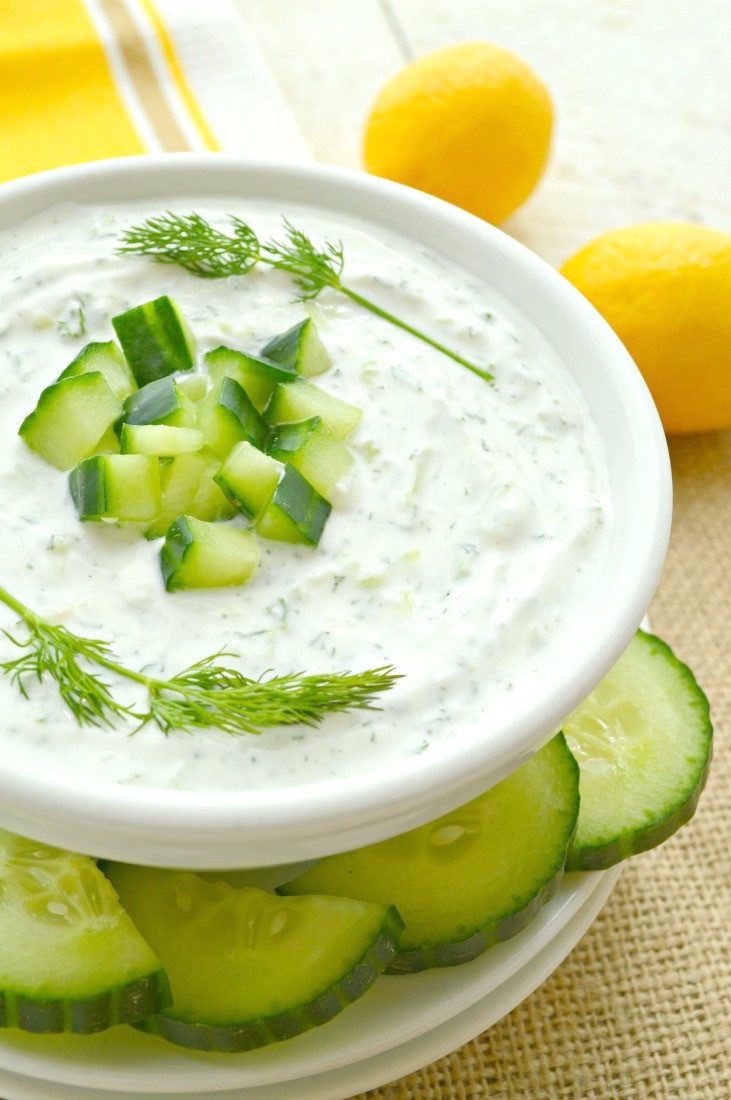 Is Tzatziki Sauce Healthy  Tzatziki Sauce Recipe Gonna Want Seconds