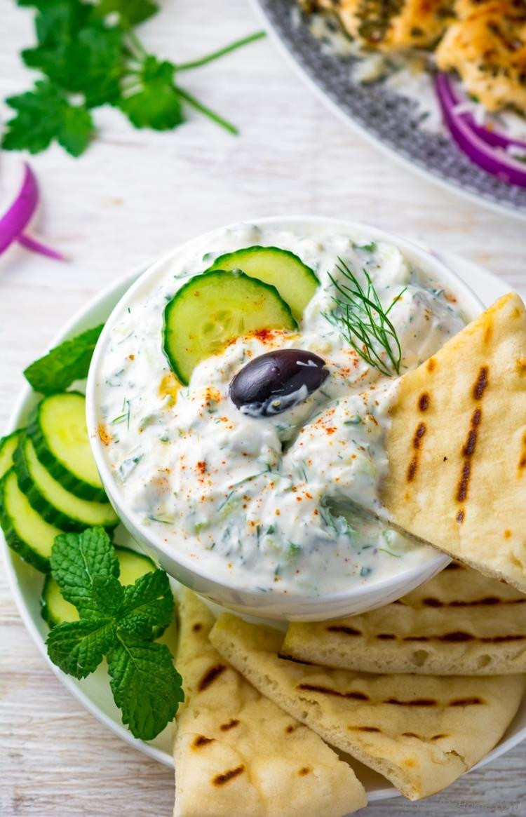 Is Tzatziki Sauce Healthy  Easy Tzatziki Sauce Recipe