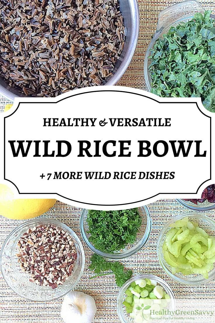 Is Wild Rice Healthy  Healthy Wild Rice Bowl HealthyGreenSavvy