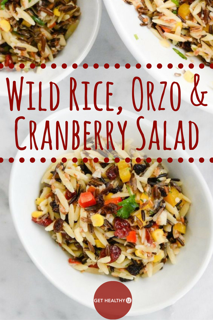 Is Wild Rice Healthy  Wild Rice Orzo and Cranberry Salad Get Healthy U
