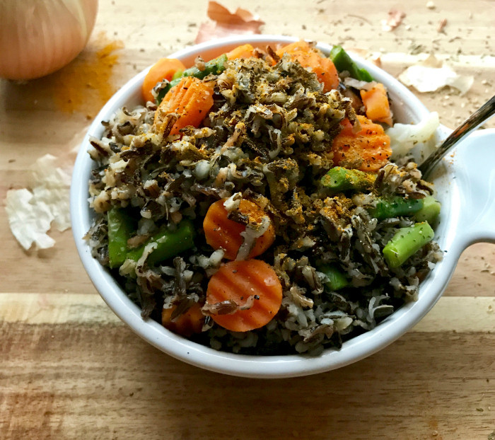 Is Wild Rice Healthy  Quick n Easy Turmeric Wild Rice and Veggie Pilaf Vegan