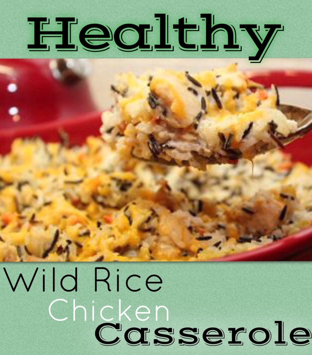 Is Wild Rice Healthy  Wild Rice & Chicken Casserole Healthy Recipes