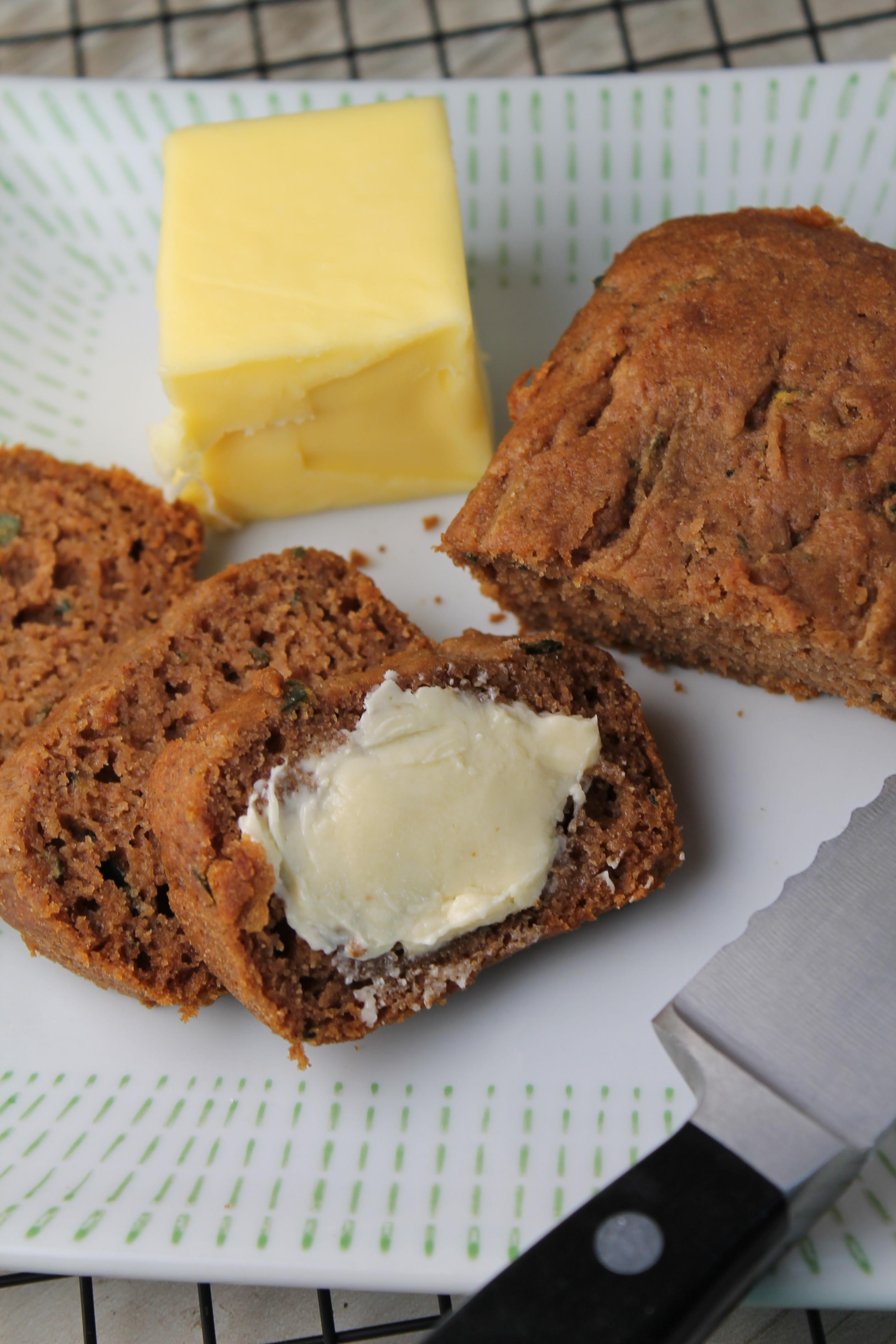 Is Zucchini Bread Healthy  Healthier Zucchini Bread – Gluten Free & Vegan