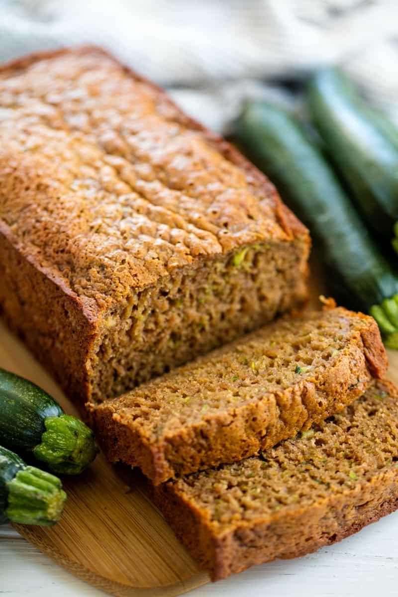 Is Zucchini Bread Healthy  Healthy Zucchini Bread