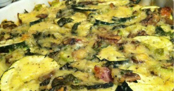 Is Zucchini Keto  KETO Zucchini and Squash Casserole