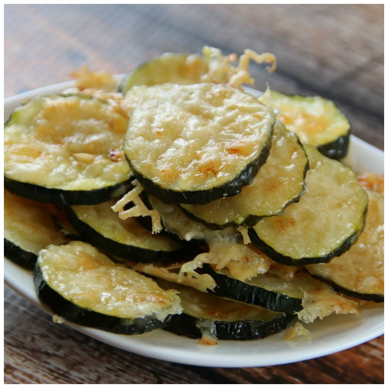 Is Zucchini Keto  Low Carb Zucchini Parmesan Chips Keto Friendly Recipe