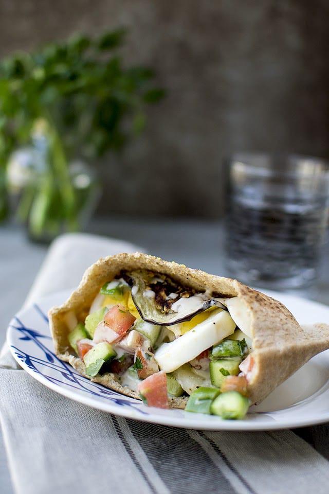 Israeli Vegetarian Recipes  Sabich Israeli Ve arian Sandwich for Food of the