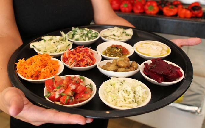 Israeli Vegetarian Recipes  Conde Nast taps Tel Aviv as world s ve arian food