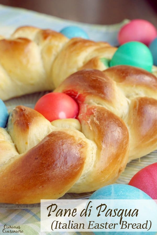 Italian Easter Bread With Anise  Pane di Pasqua Italian Easter Bread • Curious Cuisiniere