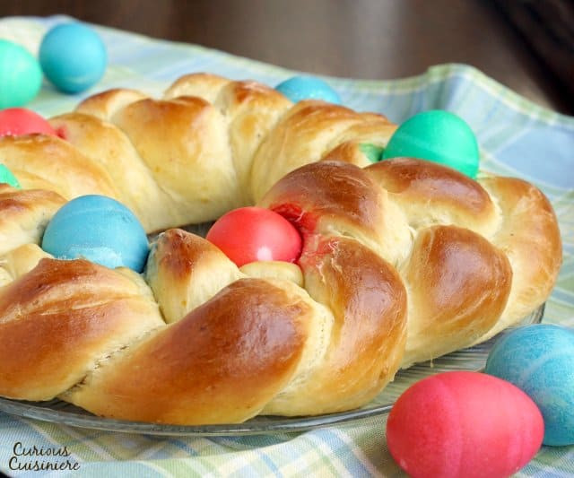 Italian Easter Bread With Meat  Traditional Italian Easter Recipes • Curious Cuisiniere