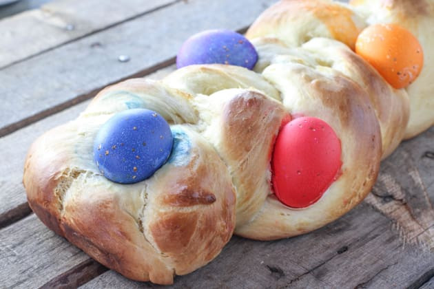 Italian Easter Bread With Meat  Italian Easter Bread Brightly Colored Tradition Food