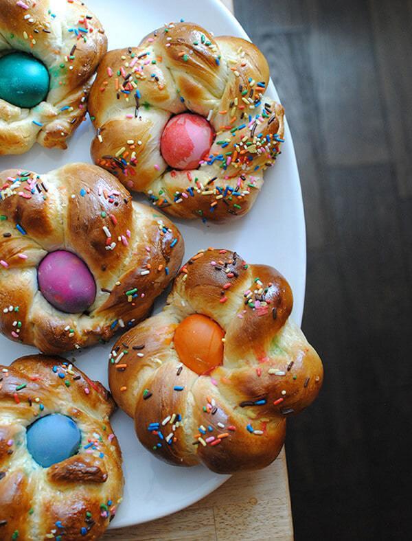 Italian Easter Egg Bread  Italian Easter Bread