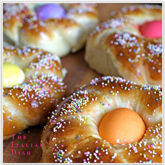 Italian Easter Egg Bread  The Italian Dish Posts Italian Easter Bread