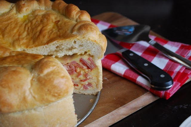 Italian Easter Pie Pizzagaina Recipes  Pizzagaina Italian Easter Ham Pie Always Order Dessert