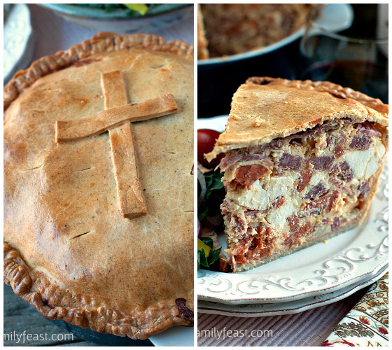 Italian Easter Recipes  traditional italian easter pie