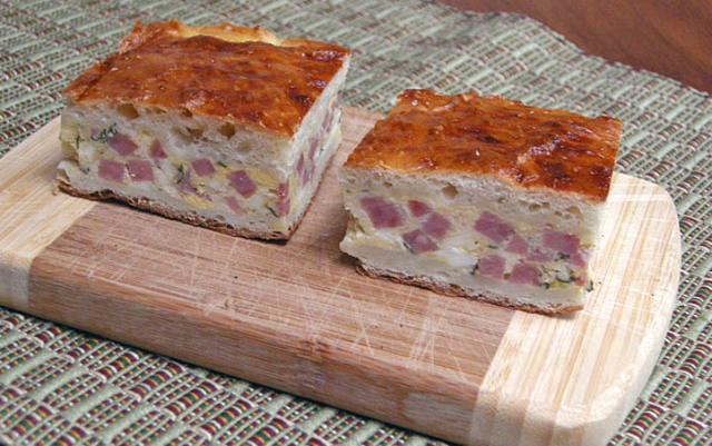 Italian Ham Pie Easter Recipe  ITALIAN EASTER PIE