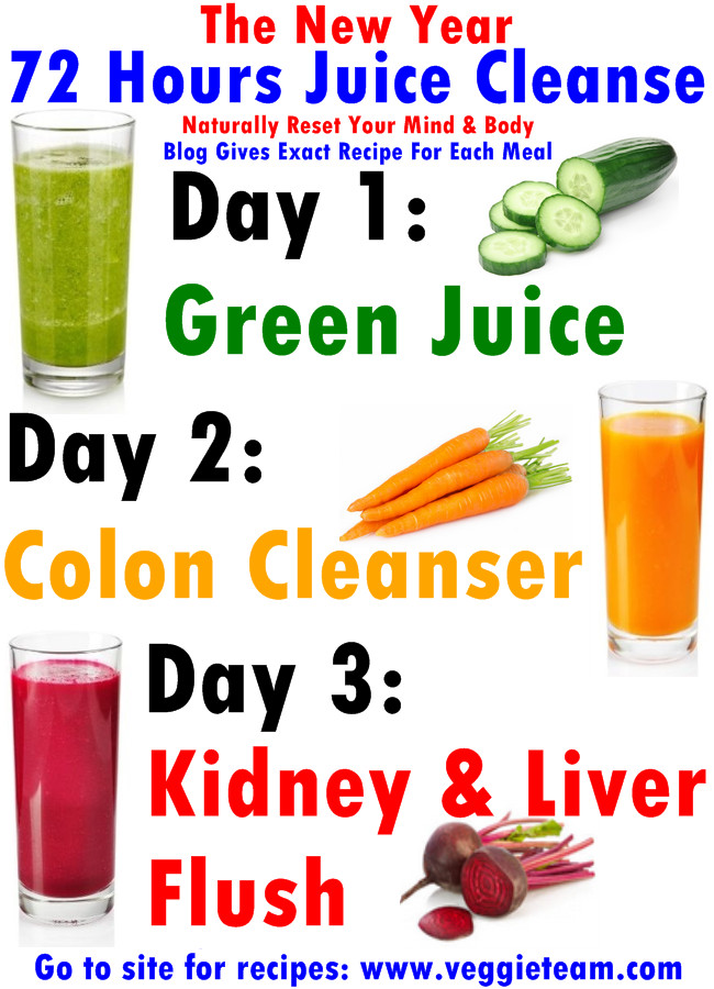 Juice Recipes For Weight Loss And Detox  3 Day Juice Cleanse Weight Loss Recipe chicposts