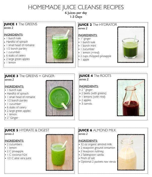 Juice Recipes For Weight Loss And Detox  A Guide to Juice Cleanse