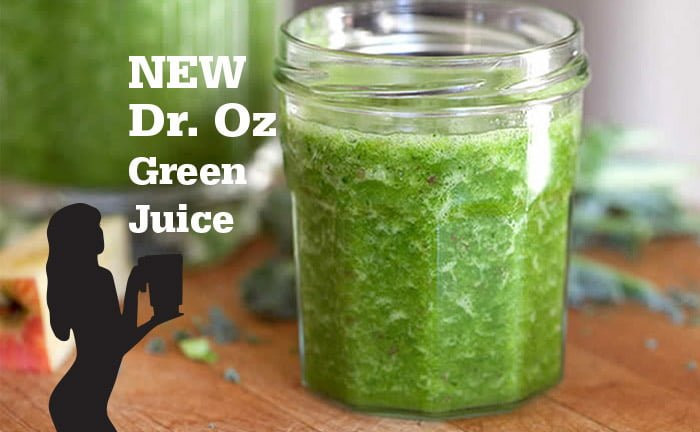 Juicing Recipes For Weight Loss Dr Oz  New and Improved Dr Oz Green Juice Recipe
