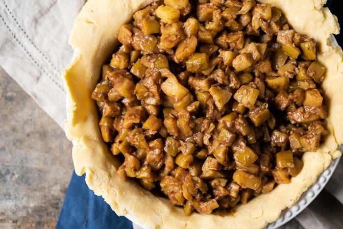 Keto Apple Pie Filling  Legit Low Carb & Keto Apple Pie With Zucchini gnom gnom