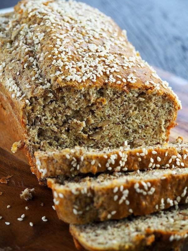 Keto Bread Machine Recipe  Keto Seeded Bread
