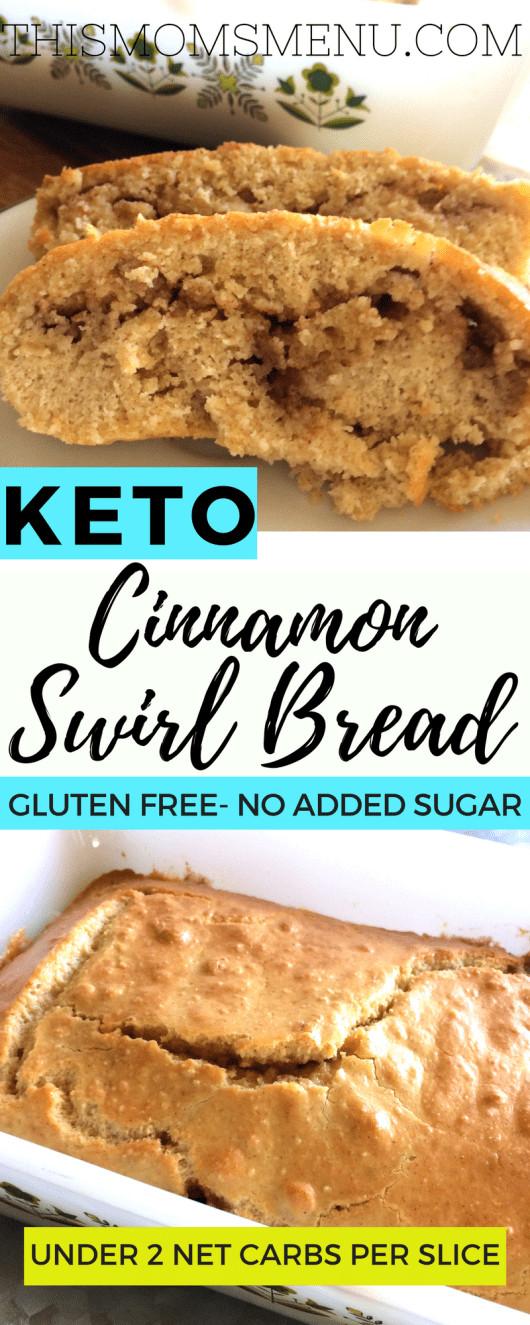 Keto Bread Machine Recipe  Keto Cinnamon Swirl Bread This Mom s Menu