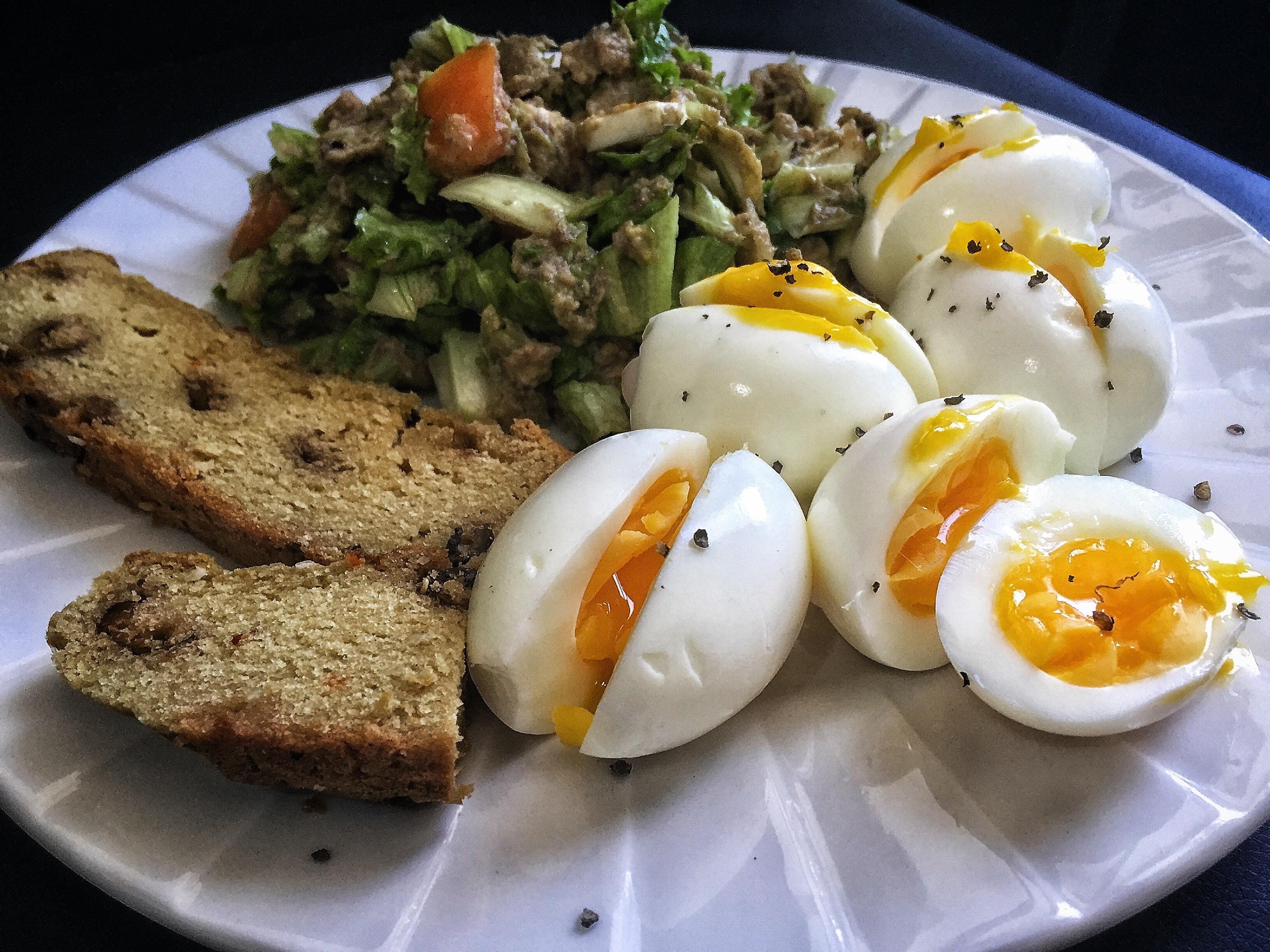 Keto Breakfast Ideas No Eggs  Boiled Eggs and Sardines Salad for Keto Breakfast – Zaneta