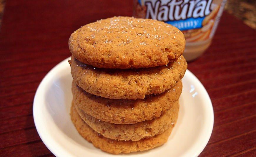 Keto Butter Cookies  keto peanut butter cookies stevia