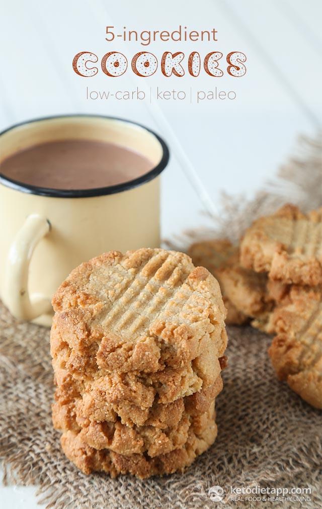 Keto Butter Cookies  5 Ingre nt Keto Cookies