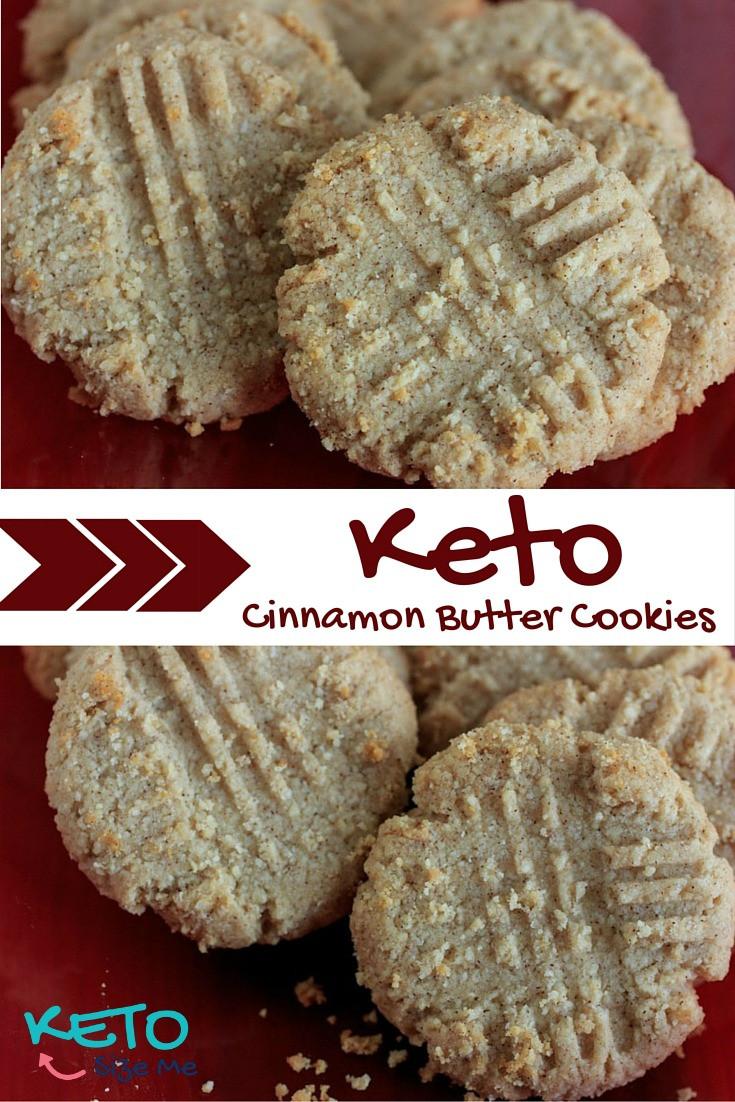 Keto Butter Cookies  Keto Cinnamon Butter Cookies Recipe • Keto Size Me